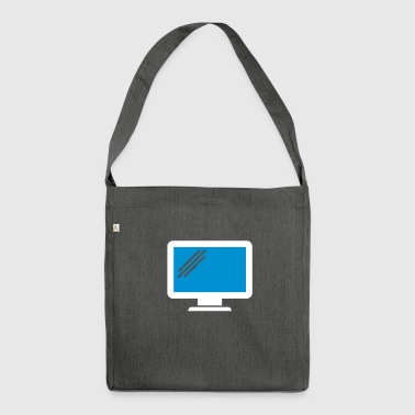 Computer - Shoulder Bag made from recycled material