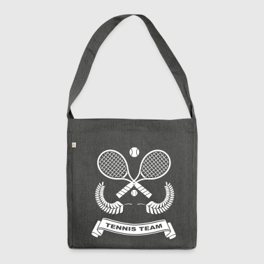 Tennis-Team - Shoulder Bag made from recycled material