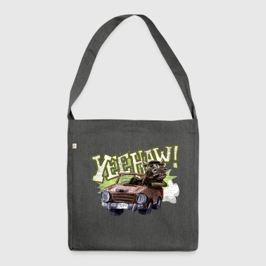 yeehaw! - Schultertasche aus Recycling-Material