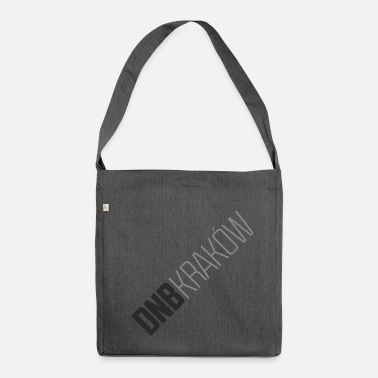 Dnb DNB KRAKÓW RECT WHITE - Shoulder Bag made from recycled material