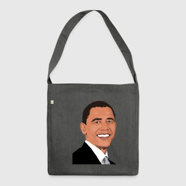 Obama USA - Schultertasche aus Recycling-Material