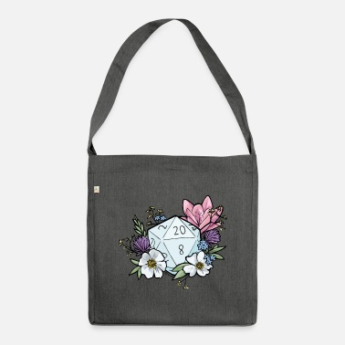 Dungeons And Dragons DUNGEONS 'n' FLOWERS - Shoulder Bag made from recycled material