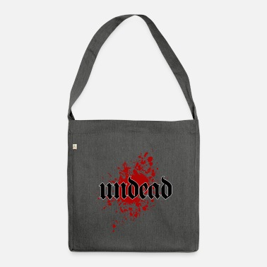 Undead Undead Undead - Shoulder Bag made from recycled material