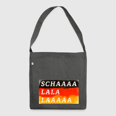 Germany Fan Shirt - Loud - Shoulder Bag made from recycled material