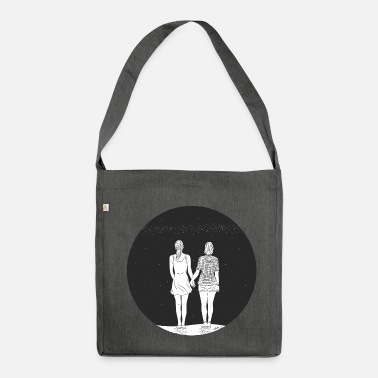 Couples together - Shoulder Bag recycled
