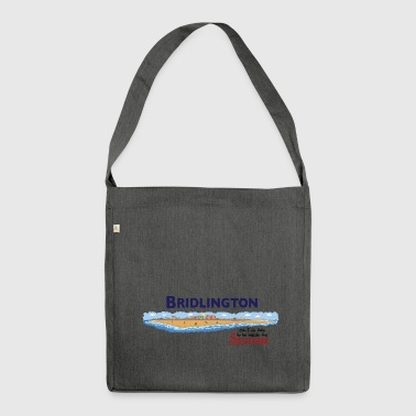 Bridlington Seaside - Shoulder Bag made from recycled material