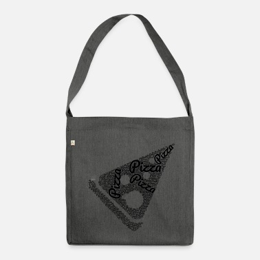 Piece Pizza piece - Shoulder Bag made from recycled material