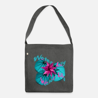 Water Lily Water Lily - Shoulder Bag made from recycled material