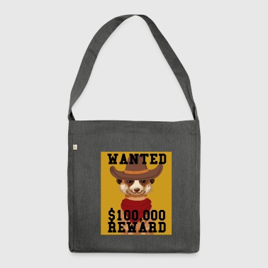 Bandit bandit - Shoulder Bag made from recycled material
