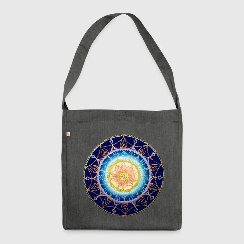 SoulArt-Mandala Sternenkind - Schultertasche aus Recycling-Material