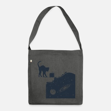 Cats Universe Cat - Shoulder Bag recycled