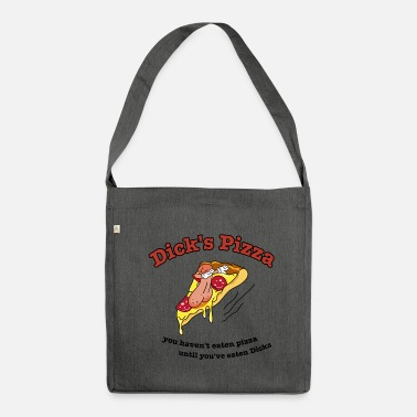 Dick La pizza di Dick - Borsa in materiale riciclato