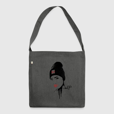 geisha - Borsa in materiale riciclato