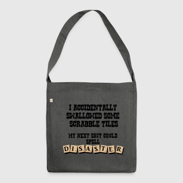 SCRABBLE MERCHANDISE - Shoulder Bag made from recycled material