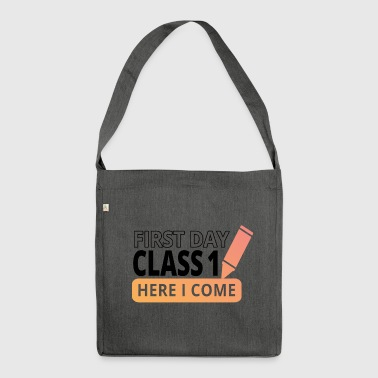 First Class - Class 1 - Shoulder Bag made from recycled material