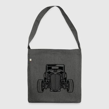 Hot Rod / Rat Rod 07_black - Shoulder Bag made from recycled material