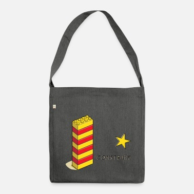 Catalan Let's build something new - Shoulder Bag made from recycled material
