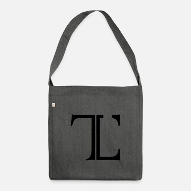 Tlc Logo original intemporel - Sac bandoulière 100 % recyclé