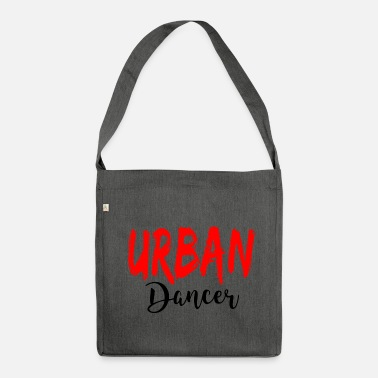 Urban Urban Dancer - Urban Dance Shirt - Schoudertas van gerecycled materiaal