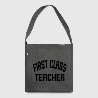 First Class Teacher - Borsa in materiale riciclato