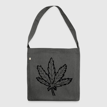 Leaf - Schultertasche aus Recycling-Material