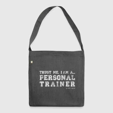 PERSONAL TRAINER 02 - Shoulder Bag made from recycled material