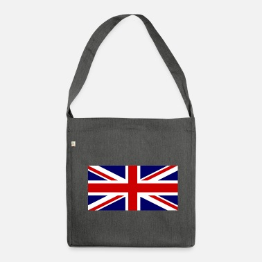 Jack Union flag - Shoulder Bag made from recycled material