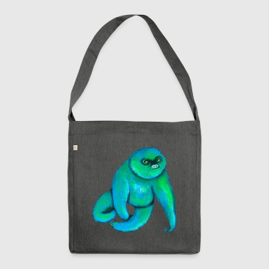 The Happy Sloth - Schultertasche aus Recycling-Material