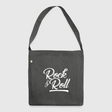 Rock and Roll - Music - Schultertasche aus Recycling-Material