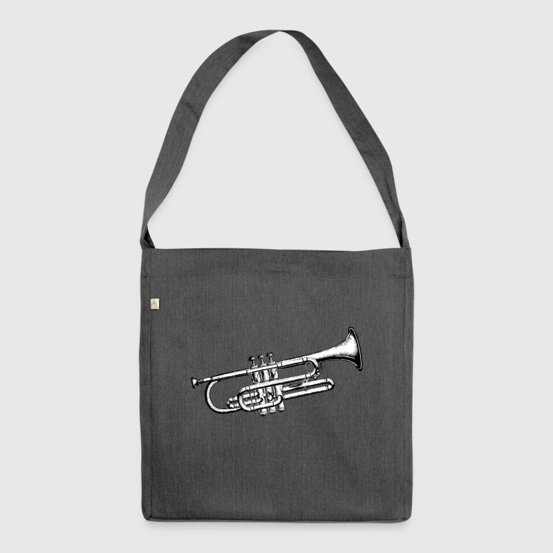 Trumpet - Shoulder Bag made from recycled material