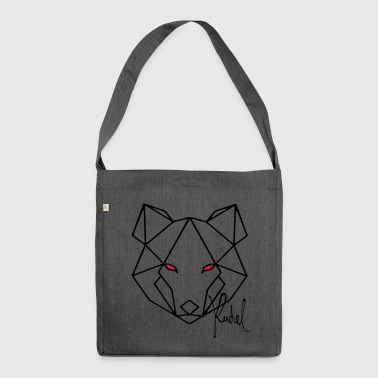 Wolf Rudel - Schultertasche aus Recycling-Material