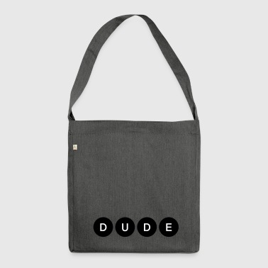 dude - Schultertasche aus Recycling-Material