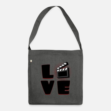 Clapperboard clapperboard - Shoulder Bag made from recycled material