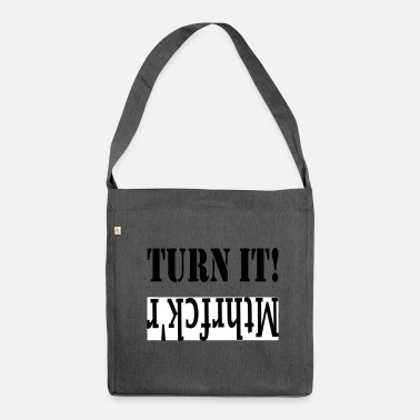 Turn it! mthrfckr - Shoulder Bag recycled