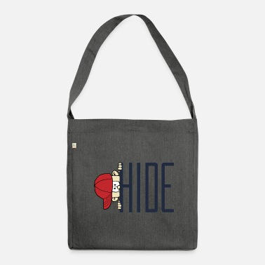 Hide Hide Game - Shoulder Bag recycled