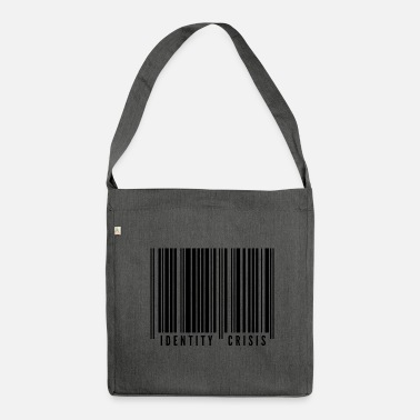 Identity identity crisis - Shoulder Bag recycled