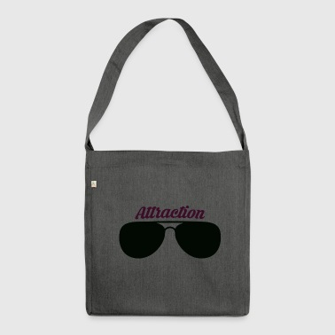 Attractive Sunglasses attraction - Shoulder Bag made from recycled material