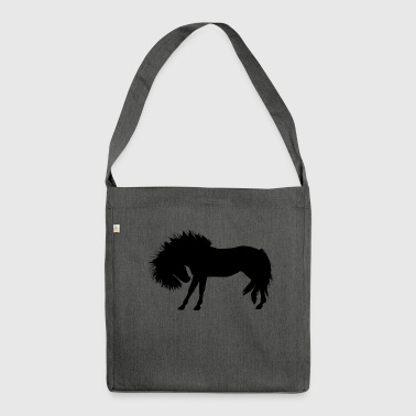 Horse mane - Shoulder Bag made from recycled material