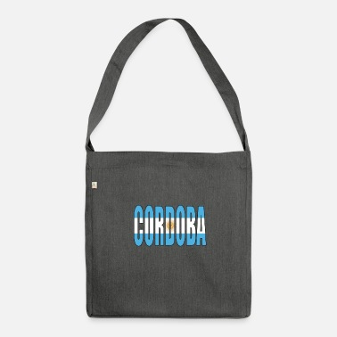 Cordoba ARGENTINIEN CORDOBA - Schultertasche aus Recycling-Material
