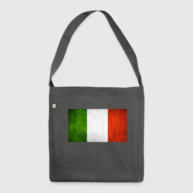 Italian flag - Shoulder Bag made from recycled material