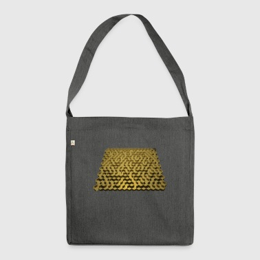 3D maze - Shoulder Bag made from recycled material
