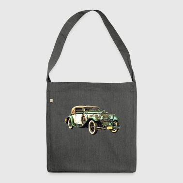 Old Car / Vintage Car / Vintage Car Gift - Shoulder Bag made from recycled material