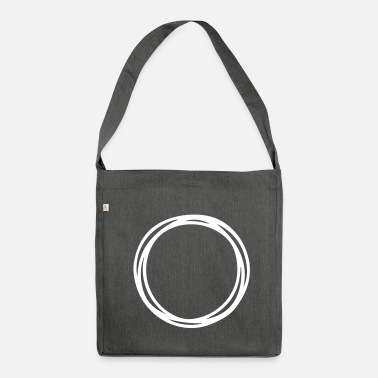 Circle Circles and circles - Shoulder Bag recycled