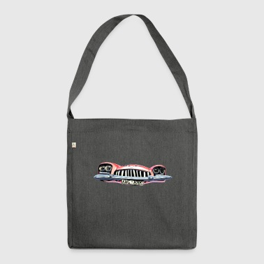 Cadillac King of Rock n Roll - Schultertasche aus Recycling-Material