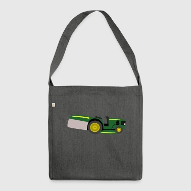 mowing machine - Shoulder Bag made from recycled material