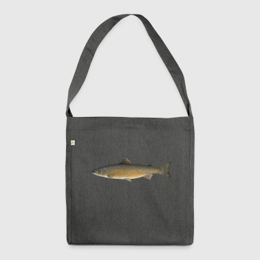 salmone - Borsa in materiale riciclato