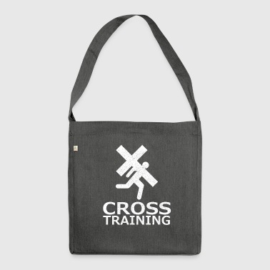 Cross Training (sarcasme) - Sac bandoulière 100 % recyclé