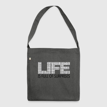 Maze of life - Shoulder Bag made from recycled material