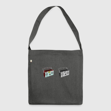 radio - Shoulder Bag made from recycled material