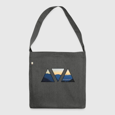 Lake Maggiore - mountains - lake - adventure - Shoulder Bag made from recycled material